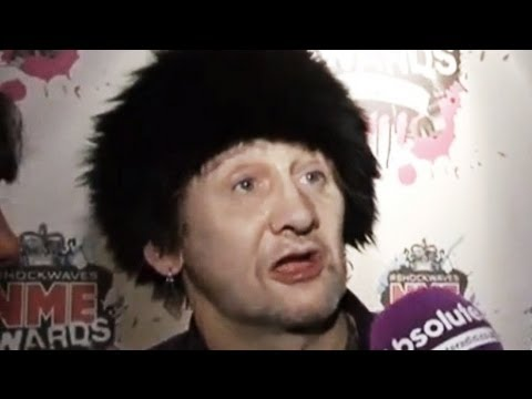 Shane Macgowan lives up to his reputation at the NME Awards