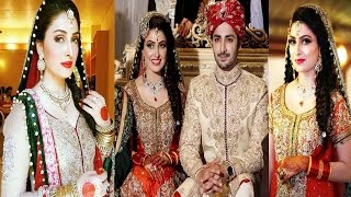 Ayeza Khan Wedding Pics With Her Husband