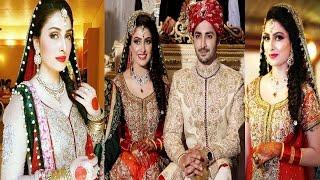 Ayeza Khan Wedding Pics With Her Husband