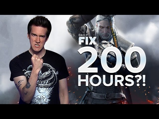 The Witcher 3 Clocks in at 200 Hours! & Final Fantasy 15 Gets Female Party? - IGN Daily Fix