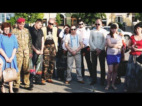 У Білій Церкві вшанували пам'ять свободівця Віталія Коломійця