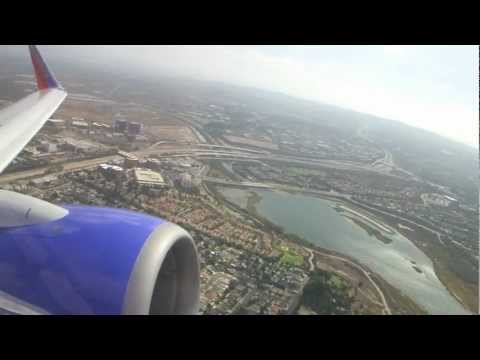 Southwest Airlines B737-7H4 POWERFUL Takeoff From Orange County