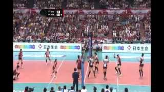 KOR X JPN volleyball - London olympic qualification