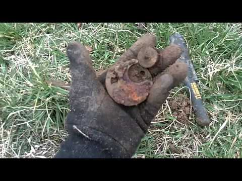 METAL DETECTING TODAY (018) MATTEL FANNER 50 TOY GUN
