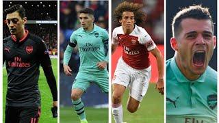 Arsenal's Midfield Dilemma mesut ozil,Lucas Torreira, Matteo Guendouzi and Granit Xhaka   AFC News