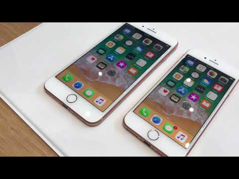 Apple IPhone 8 And 8 Plus: First Look