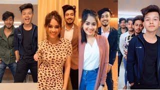 Mr. Faisu New Tiktok With Jannat Zubair Musically| Team 07, Riyaz, Mrunal, Avneet