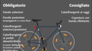 Bici-Film: Di notte, luci sempre accese! (versione italiana)