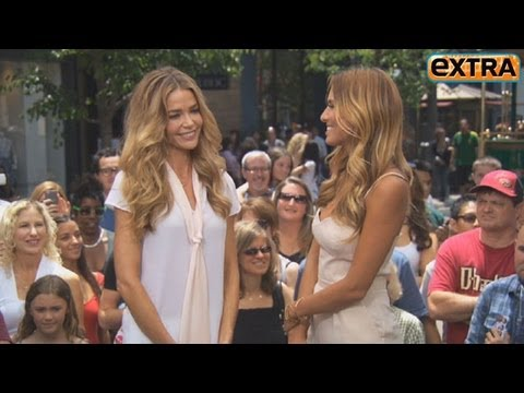 Denise Richards on Father's Day Plans with Charlie Sheen