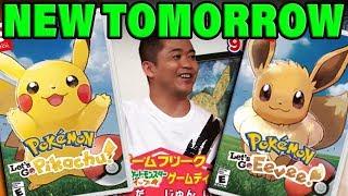 NEW POKEMON LET'S GO TRAILER TOMORROW?! Nintendo Direct Delay