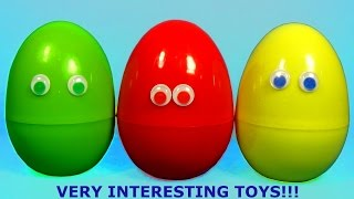 VERY INTERESTING Toys!!! ANGRY BIRDS surprise egg STAR WARS The SMURFS Disney Cars Hello Kitty