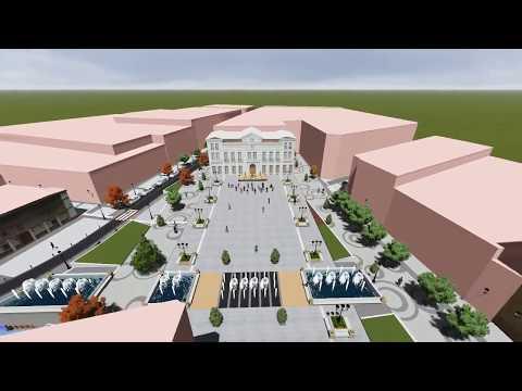 Proyecto remodelación Plaza España Tomelloso