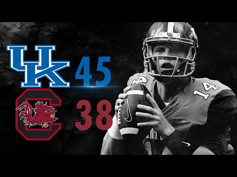 Kentucky Wildcats TV: Football vs South Carolina