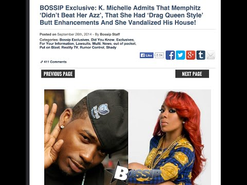 LEAKED courtroom documents show that K. Michelle lied about MempHitz beating her #LHHATL