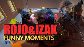 Funny Moments #133: STREAM #1 | IZAK & ROJO by Urhara