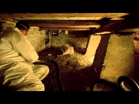 Isolering af gulv over krybekælder
