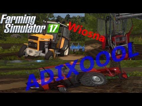 Wiosenne manewry w 2 gospodarstwach㋡WTOPY 2k18Farming Simulator 17🔔ADIXOOOL🔔