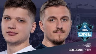 CS:GO - NaVi vs. BIG [Inferno] Map 4 - Grand Final - ESL One Cologne 2018