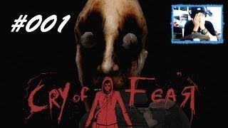 [001] CRY OF FEAR (Facecam) - Ich bin mega die Pussy ;-; FUCK DAT SHIT - Let's Play
