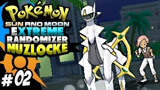 FAKE - I CAN'T BELIEVE THIS! - Pokemon Sun And Moon Extreme Randomizer Nuzlocke - (Episode 2)
