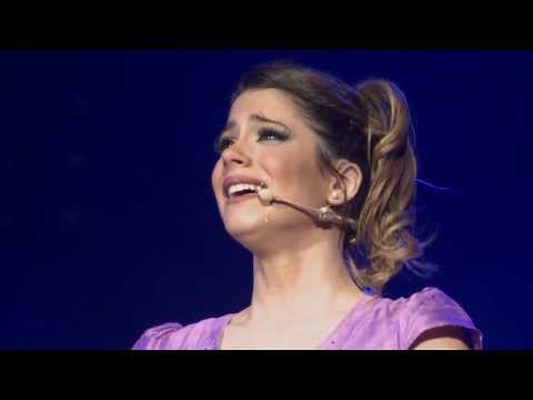 Violetta en Vivo: Tini emocionada en México