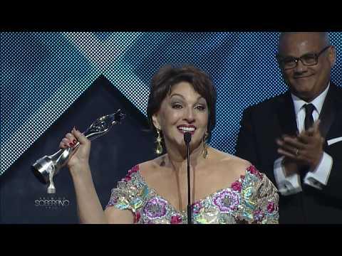 Cecilia García Soberano a Las Artes Escénicas Premios Soberano 2018