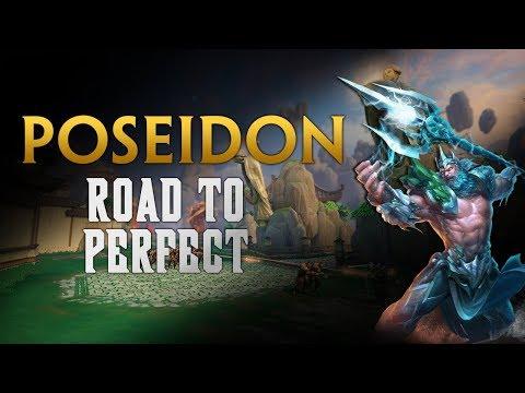 SMITE! Poseidon, Buscando el potencial! Road To Perfect S5 #13