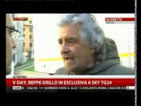 3° V Day Genova — le interviste di SkyTg24   1 dicembre 2013