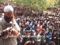 Thousand attend funeral prayers of slain militants in Tral, Militants offer gun salute