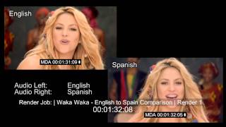 download lagu Shakira - Waka Waka Spanish & English gratis