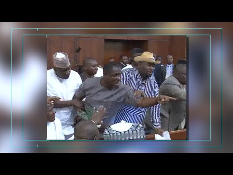 Chaos In The Nigeria House Of Representives