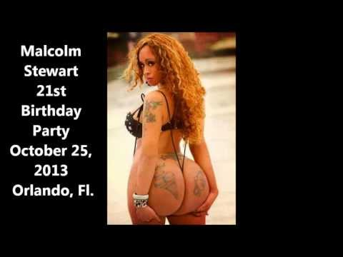 Malcolm Stewart 21st Birthday Party Ft. Nona Malone October 25, 2013 In Orlando, Fl. video