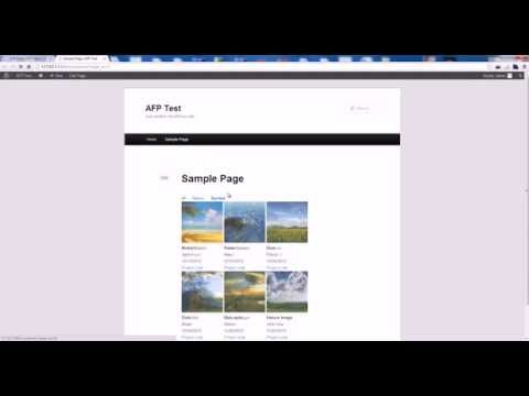 Awesome Filterable Portfolio Video Tutorial - WordPress Plugin