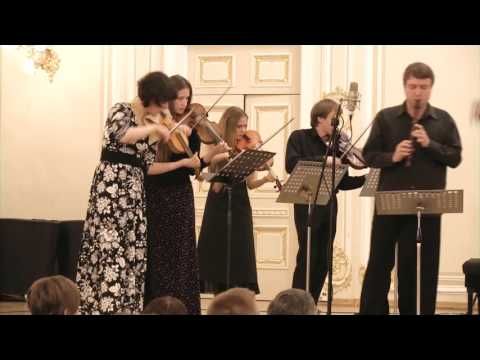 Телеман, Георг Филипп - Концерт для гобоя, скрипки, струнных и b.c. до минор