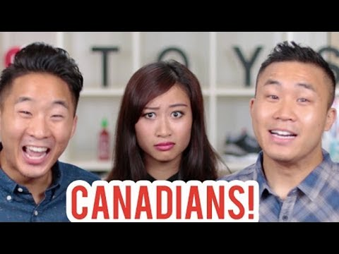 Asian Canadians Vs Asians Americans video