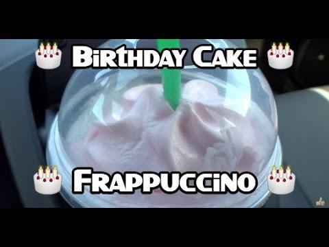 Starbucks Happy Birthday Frappuccino Taste Test Review video