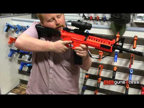 Well D2810 fully auto bb gun review unboxing from bbguns4less