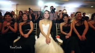 The Amazing Tran Wedding Dance Off (Epic, Cute, Funny, Hilarious!).  Bridesmaids vs Groomsmen