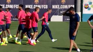 Download Jasper Cillessen's first training session with FC Barcelona 3Gp Mp4