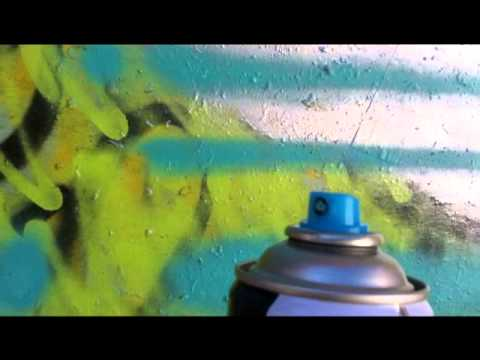 Kolour Spray Paint Review Cap Test Youtube