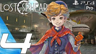 Lost Sphear - Gameplay Walkthrough Part 4 - Demon Gate Boss & Vulcosuits (PS4 PRO)