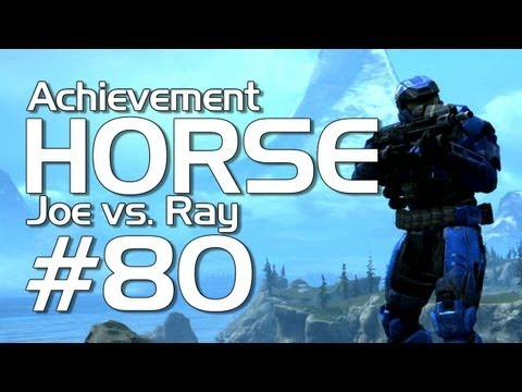 Halo: Reach - Achievement HORSE #80 (Ray vs. Joe!)