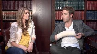 Jake McDorman: Greek Set Visit Interview