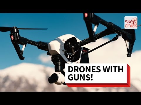 Why Outlawing Guns on Drones May Be Bad for Science