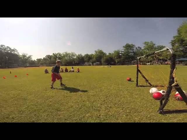 Parks & Recreation soccer camp 2014