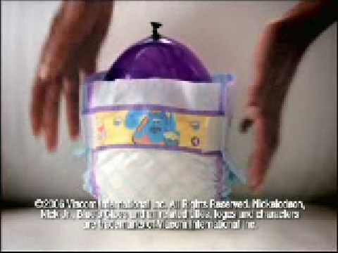 Luvs Balloon Demo TV Ad
