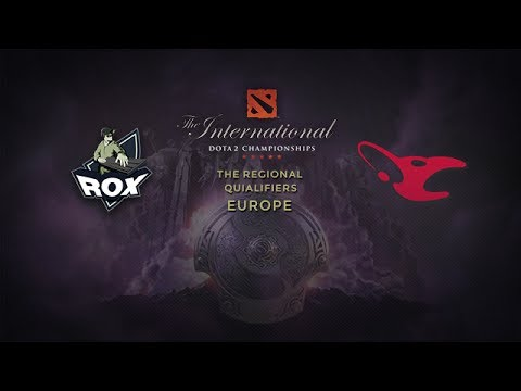 RoX.KiS vs Mouz, TI4 EU Qualifier, Round 12