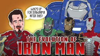 The Evolution Of Iron Man / Tony Stark (Animated)