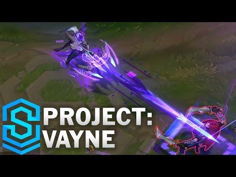 PROJECT: Vayne Skin Spotlight - Pre-Release - League of Legends