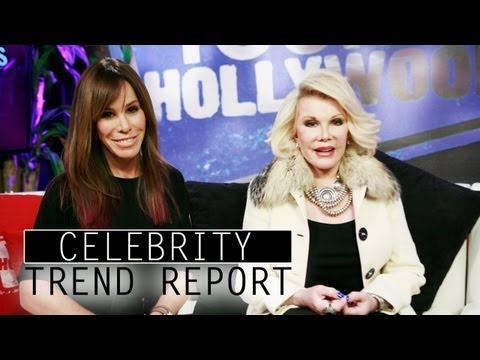 Joan Rivers &amp; Melissa Rivers Dish Red Carpet Musts! - CELEBRITY TREND REPORT